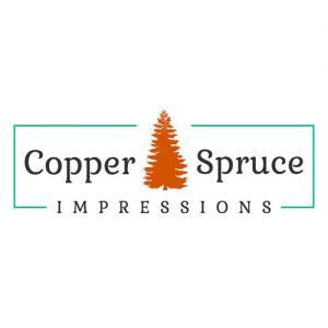 copper spruce impressions logo